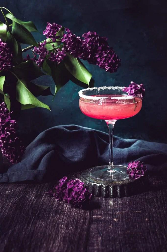 margarita recipe, Tequila cocktail, lilac blossom, voilet , brunch recipes