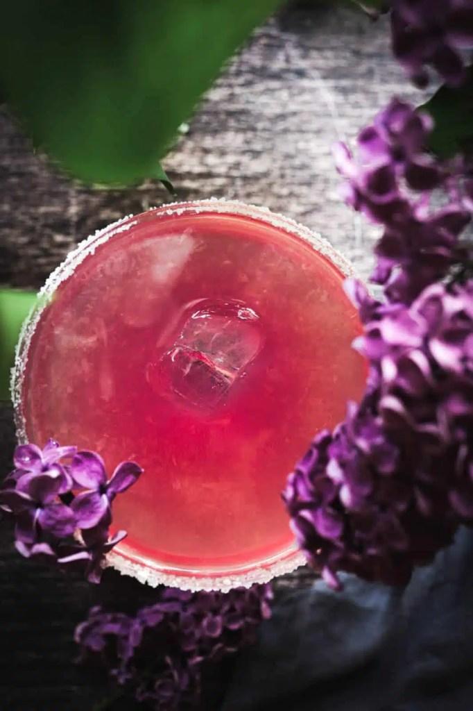 margarita recipe, Tequila cocktail, lilac blossom, violet , brunch recipes ,