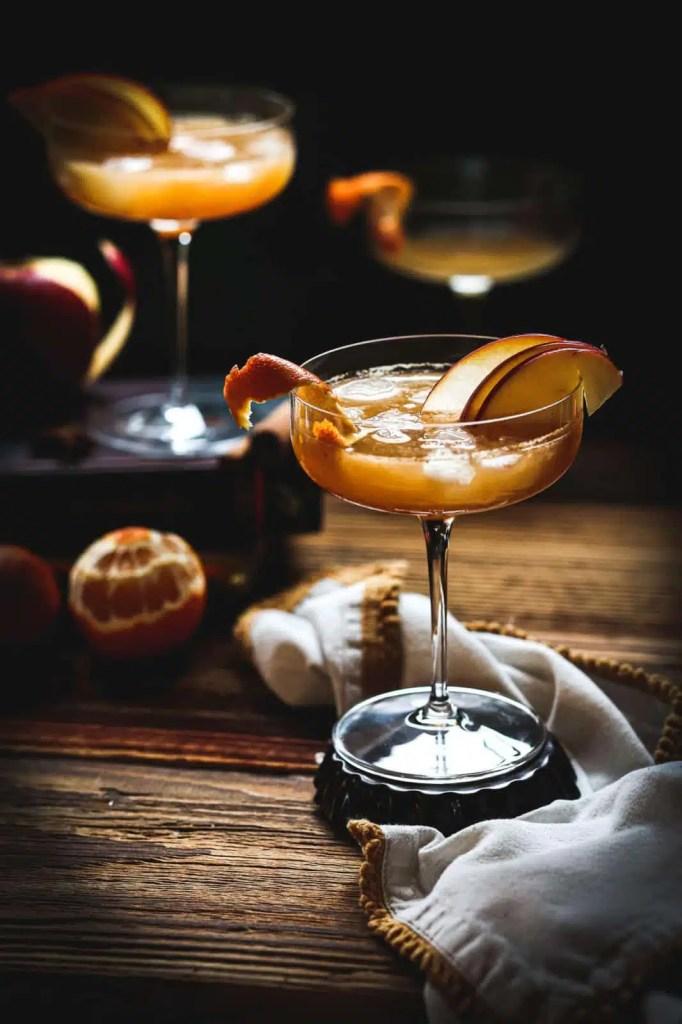 christmas season , thanksgiving recipe , cocktails recipe , apple cider , tangerines