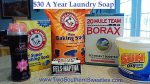 How To Spend Only $30 Per Year For Laundry Soap