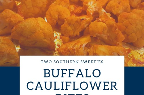 This is a delicious recipe that will help you not only eat more veggies but will also quell those cravings for those deep fried, diet busting, Buffalo Chicken wings. | Super Bowl Food | Healthy Snacks | Bar Food | Healthy Eating | Two Southern Sweeties | #healthyrecipes #healthysnacks