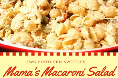 This macaroni salad is one of my absolute favorites. It's a family recipe handed down through our family for years. Delicious and simple. Great for BBQs and Picnics. | Salad | Tuna Salad | Picnic Food | BBQ Side Dishes | Pasta Salad | Southern Recipes | Southern Food | #pastasalad #salad