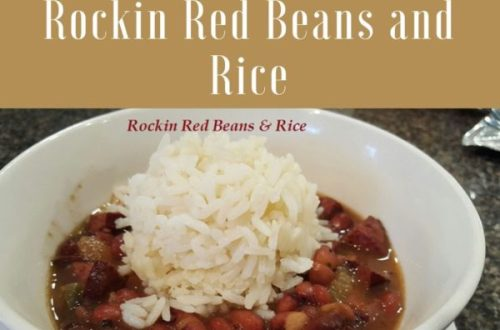 Rockin Red Beans and Rice