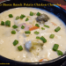 Cheddar Bacon Ranch Potato Chicken Chowder is a soup filled with HUGE flavor. Super easy, family favorite, comfort food Crock-Pot or slow cooker chowder. Set it, forget it and enjoy!