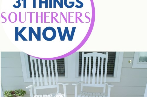 31 Things All Southerners Know. Phrases, words, college football, weather and manners. These are just a few things Southerners Know. front porch, rocking chairs, the south, southern lifestyle #southernlifestyle