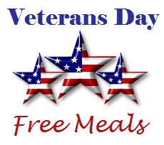 Veterans Day Meal Deals