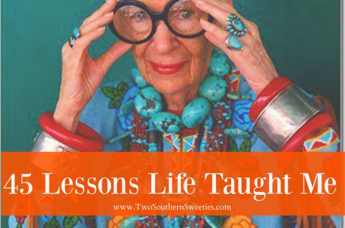45 Lessons Life Taught Me