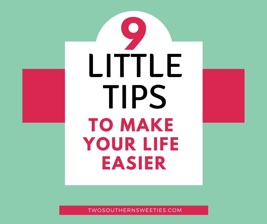 These tips and life hacks will seriously wishing you had known them sooner. They are such simple tips that will add big value to your life. | Two Southern Sweeties | #lifehacks