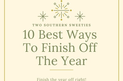 The 10 best things you can do to finish off the year & prepare for the next. Deal with the past to be able to move forward into the next year! New Years | New Years Resolution | #NewYears