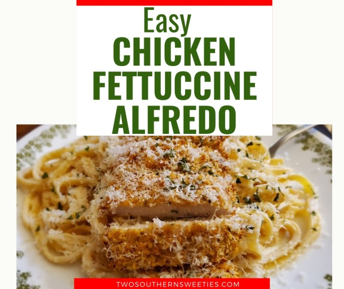 Chicken Fettuccine Alfredo This delicious Chicken Fettuccine Alfredo recipe is ready in just about 30 minutes. Make the crispy chicken in either your air fryer or the oven. This will be the best Chicken Fettuccine Alfredo you've had. | Italian food | Italian Recipes | Noodle Recipes | healthy chicken fettuccine alfredo #chickenrecipes #30minutemeals
