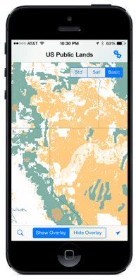 Introducing: US Public Lands for iPhone/iPad & Android | Technomadia