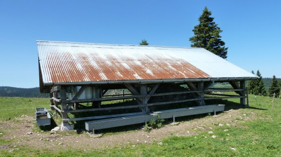 Couvert du Pré de Châtel - L'Isle - Vaud - Suisse