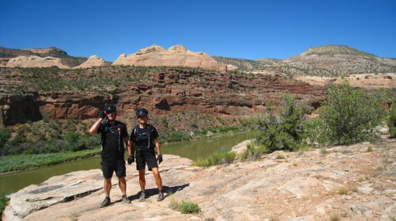 Horsethief Bench Trail - McInnis Canyons National Conservation Area - Colorado