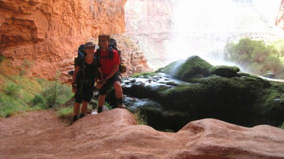 Ribbon Falls - Grand Canyon National Park - Arizona