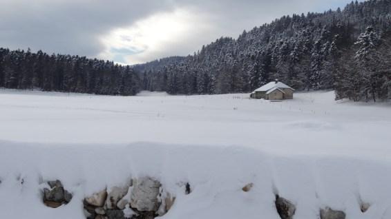 Buvette La Chaumette - Bassins - Vaud - Suisse