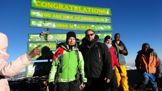 Uhuru Peak – Mount Kilimanjaro National Park – Tanzania