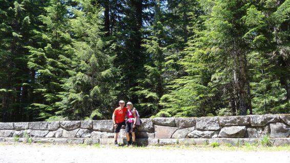 South Puyallup River Bridge - Mount Rainier National Park - Washington