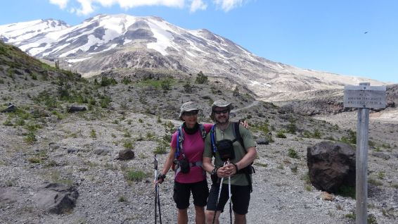 Ape Canyon - Mount St Helens National Volcanic Monument - Washington