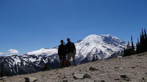Sunrise - Mount Rainier National Park - Washington