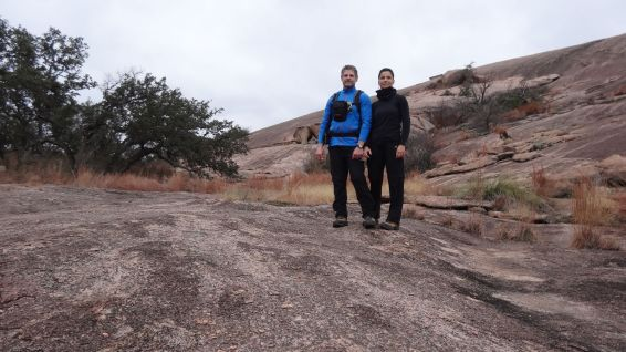 Turkey Pass Trail - Enchanted Rock State Natural Area - Texas