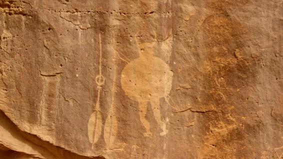 Big Warrior Panel - Crow Canyon - Nouveau Mexique