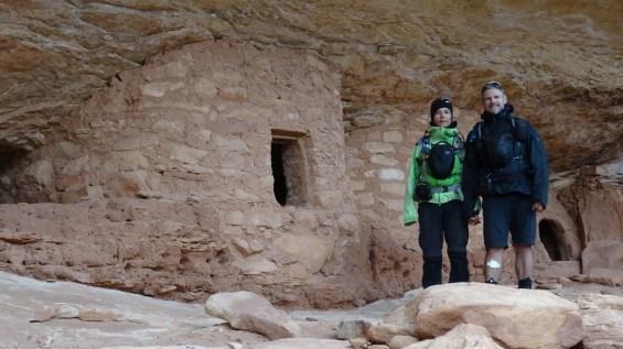 Big Foot Ruins - Natural Bridges National Monument - Utah
