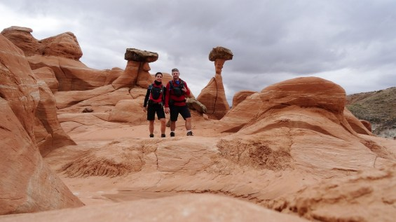 Toadstools Hoodoos - Grand Staircase-Escalante National Monument - Utah