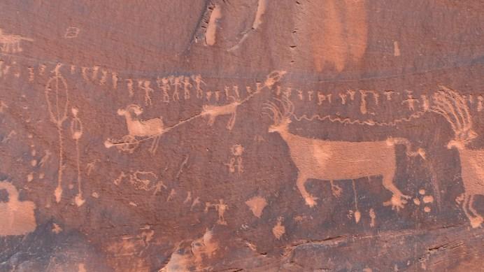 Procession Panel - Butler Wash - Cedar Mesa - Utah