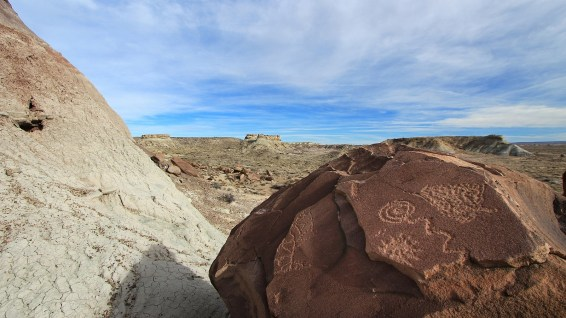 Martha's Butte - Petrified Forest National Park - Arizona