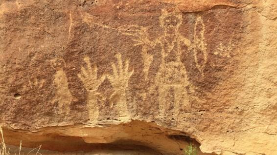 Big Warrior Panel - Crow Canyon - New Mexico
