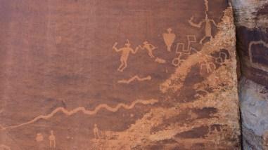 Fighting Men Panel - Indian Creek - Utah