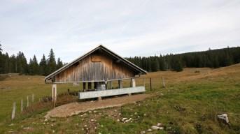 Couvert de la Rionde Dessus - Bassins - Vaud - Suisse