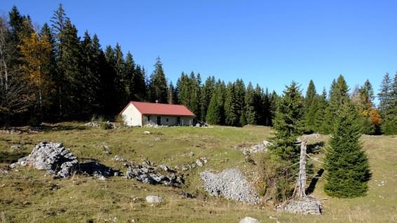 Chalet sur le pâturage de La Baragne - Arzier-Le Muids - Vaud - Suisse