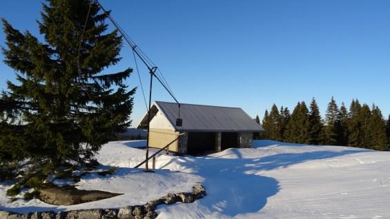 Couvert aux Monts de Bière Derrière - Vaud - Suisse
