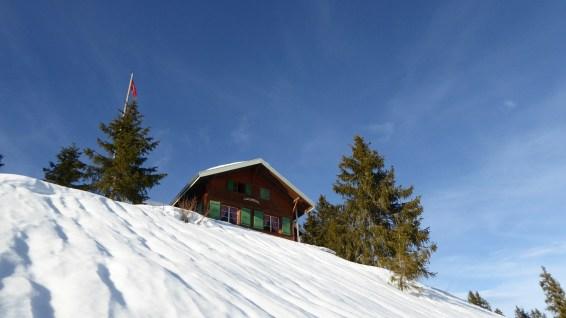 Cabane de l'Ecureuil - Le Chenit - Vaud - Suisse
