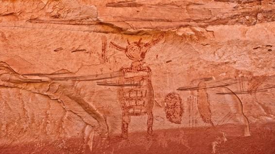 Alcove Gallery - Horseshoe Canyon - Utah