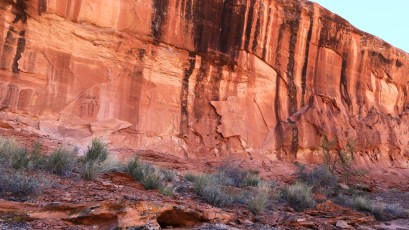 Snake in Mouth Panel - Seven Mile Canyon - Moab - Utah
