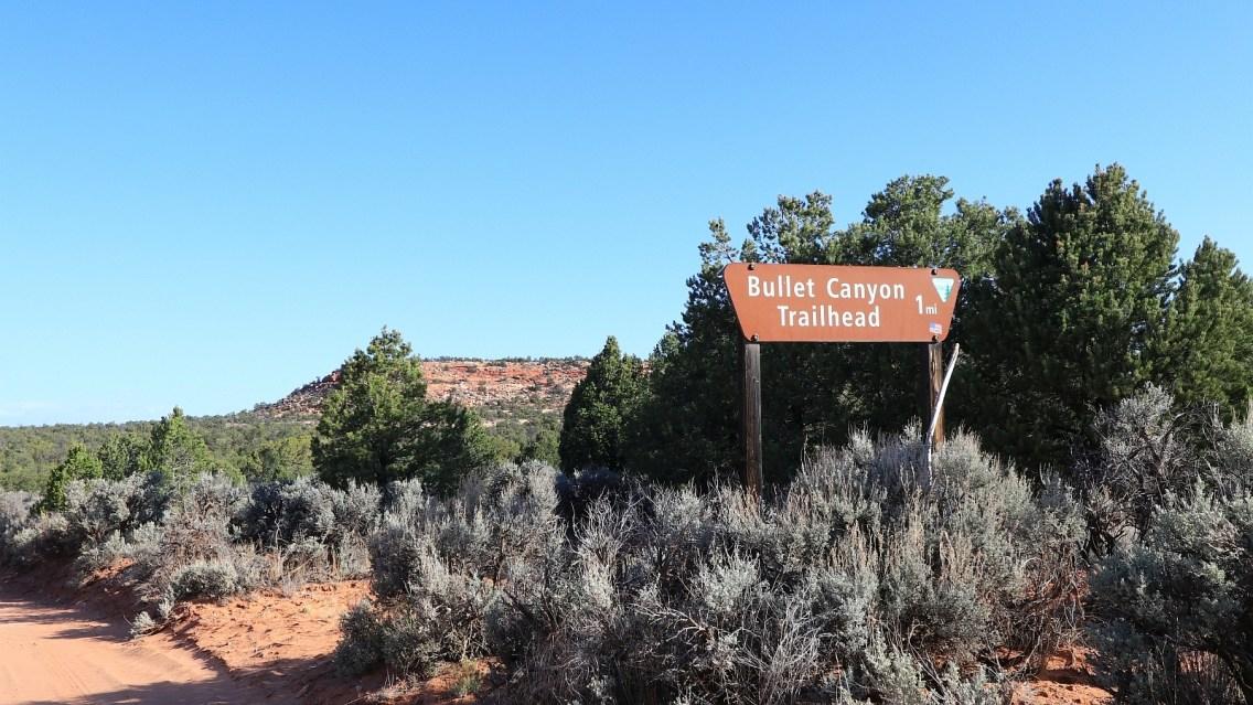 Bullet Canyon Trailhead - Cedar Mesa - Utah - États-Unis