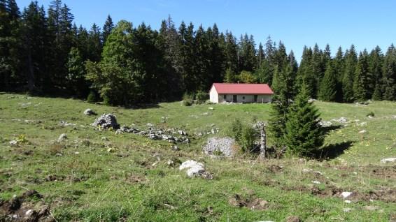 Chalet sur le pâturage de la Baragne - Vaud - Suisse