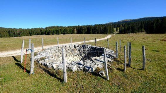 Les 4 puits du Petit Croset - L'Abbaye - Vaud - Suisse