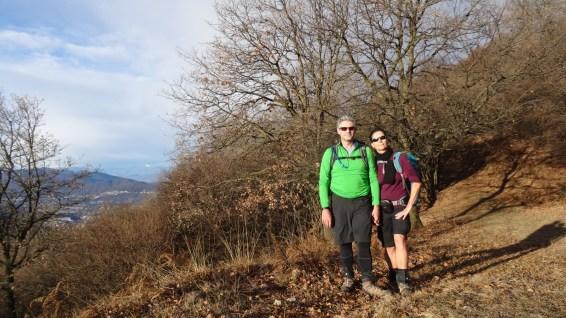 En montant au Monte Boglia - Tessin - Suisse