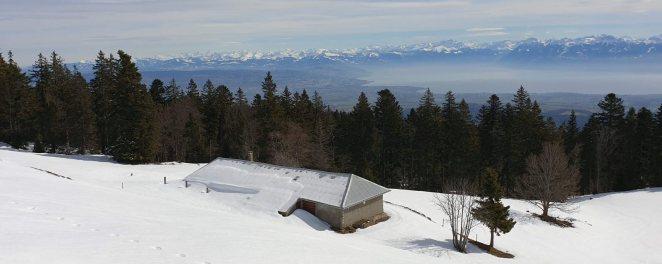 Chalet de la Correntine - Bière - Vaud - Suisse