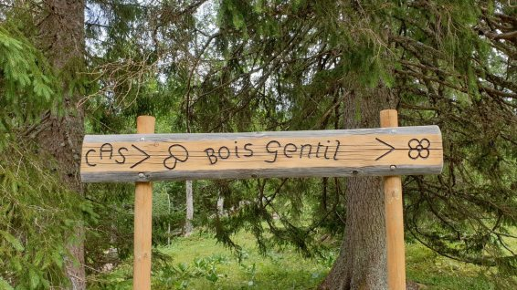 Cabane Bois Gentil - CAS Val-de-Joux - Le Chenit - Vaud - Suisse