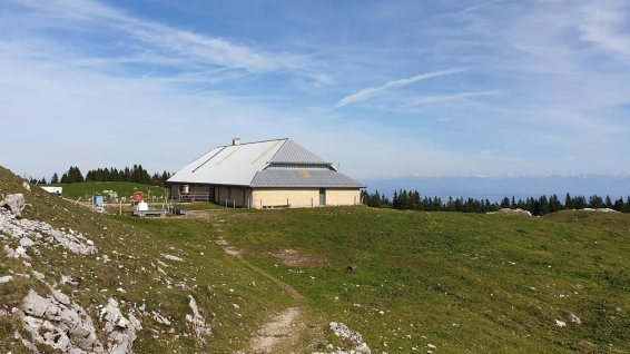 Buvette du Mont Tendre - Montricher - Vaud - Suisse