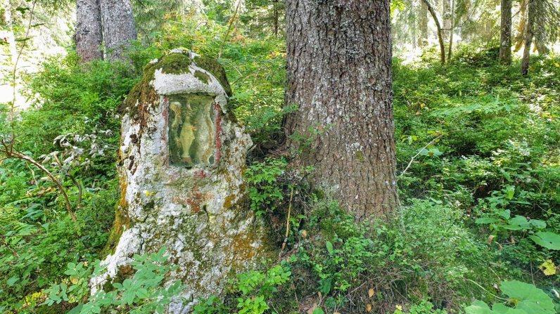 La Vierge du Sentier des Begnines - Arzier-Le Muids - Vaud - Suisse
