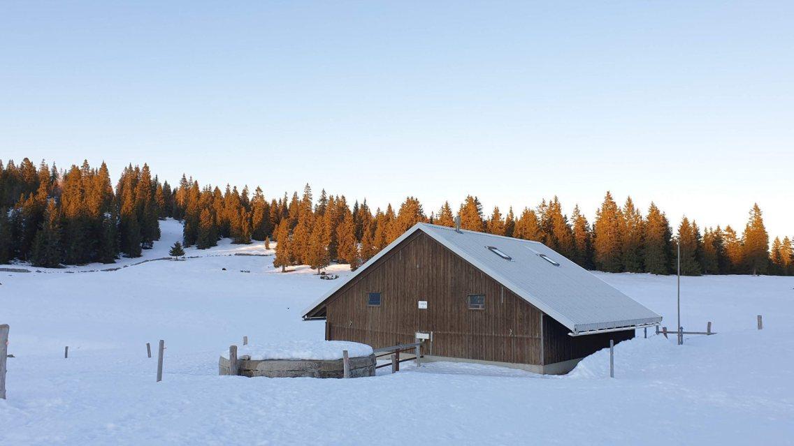 Couvert de La Plateforme - Le Chenit - Vaud - Suisse
