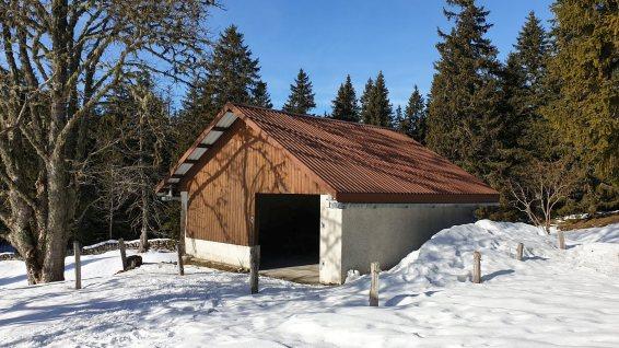 Couvert du Chalet Neuf - Gimel - Vaud - Suisse