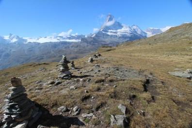 Petit banc de Höhbalmen, Zermatt, Valais, Suisse