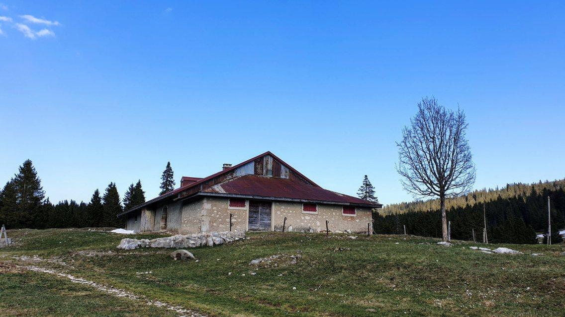 Croset du Buron - L'Abbaye - Vaud - Suisse
