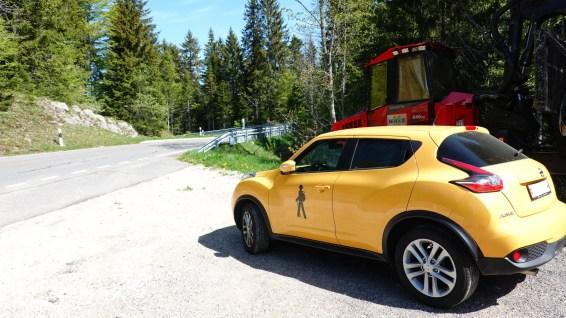 Route du Marchairuz - Gimel - Vaud - Suisse